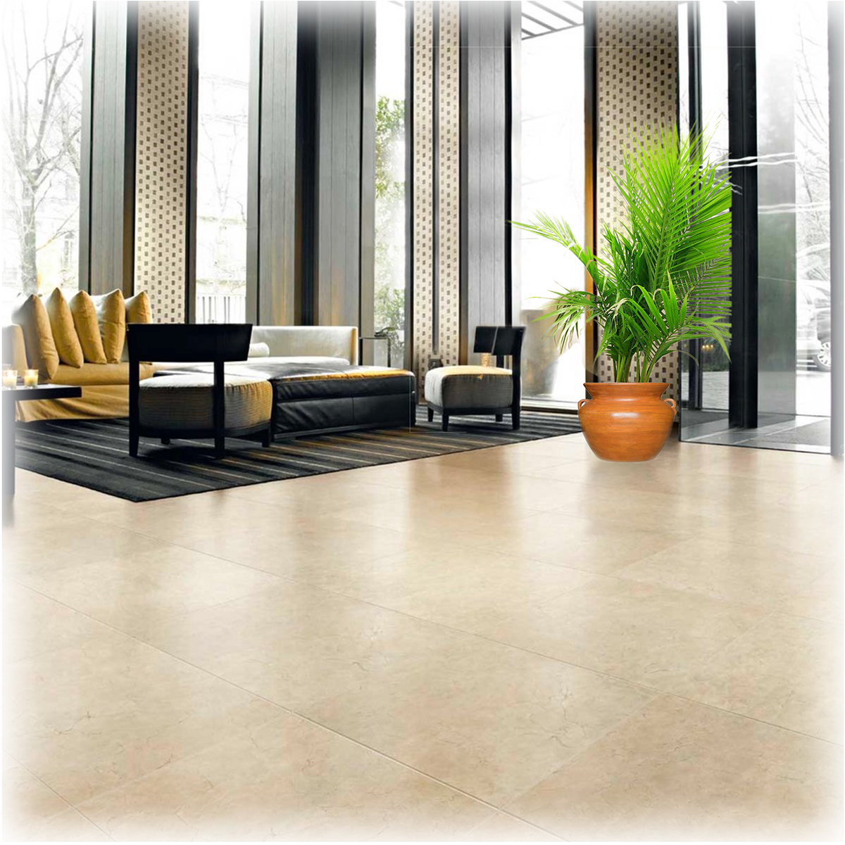Porcelain Tile offered by Foster Flooring for high quality stone